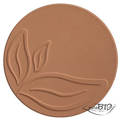 Бронзер оттенок 03 бежево - коричневый