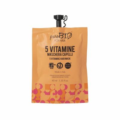 Маска для волос 5 витаминов ( 40 мл. )